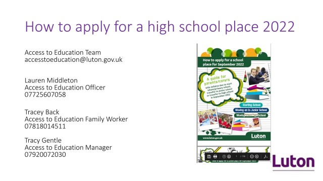 How To Apply For A High School Place 2022