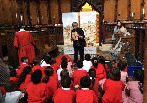 Year 3 Visit St. Albans Cathedral